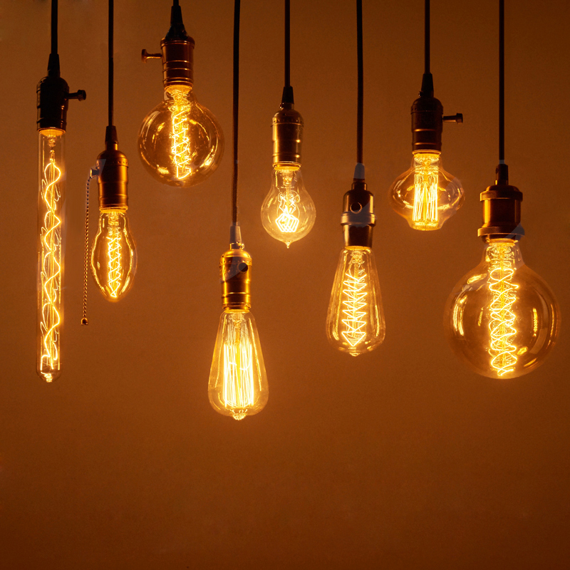 Other Electrical & Lighting - Vintage Edison Bulbs E27 40W/60W AC 220V ...