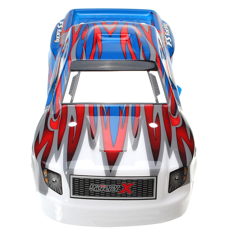 FS Racing 538551 Red & Blue RC Car Shell FS53692 1/10 RC Car Parts - Photo: 6