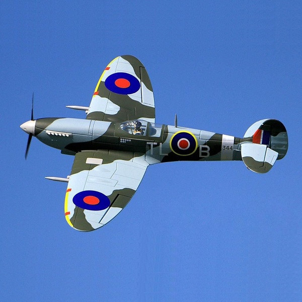 Dynam Supermarine Spitfire 1200mm Wingspan RC Warbird Airplane PNP