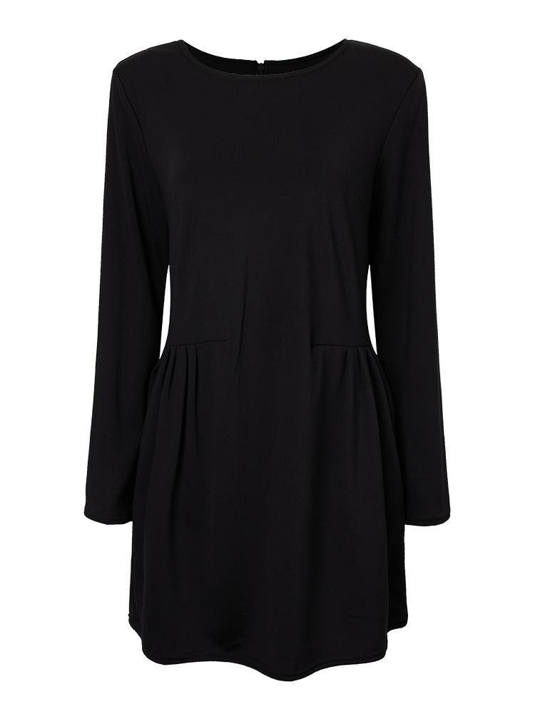 Vrouwen elegante lange mouwen slim shirt jurk bij banggood - Configuratie dressing ...