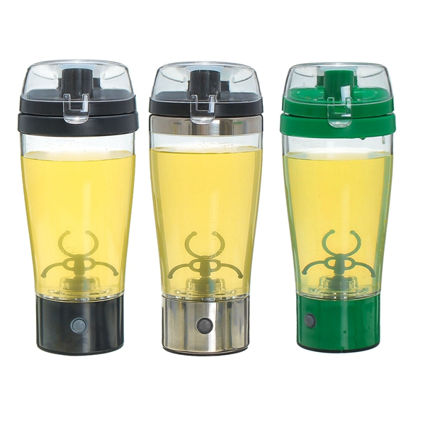 Stainless Steel Plastic Automatic Stirring Coffee Cup Transparent Electric Mug Cup Milkshake Cup