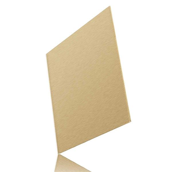 Feuille de laiton x 100mm x 100mm laiton plaque de - Plaque acier 5mm ...