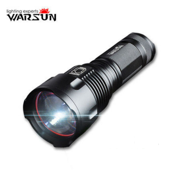Warsun X65 XM-L T6 3Modes 1200LM Zoomable LED Flashlight portable 8000 lumens flashlight 5 mode cree xm l t6 led flashlight zoomable focus torch by 1 18650 or 3 aaa battery