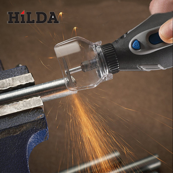 HiLDA Safety Protective Cover Electric Grinder Transparent Cover Shield For Dremel electric grinding safety protective cover shield mini drill holder power tool accessories for dremel 3000 4000 engraving