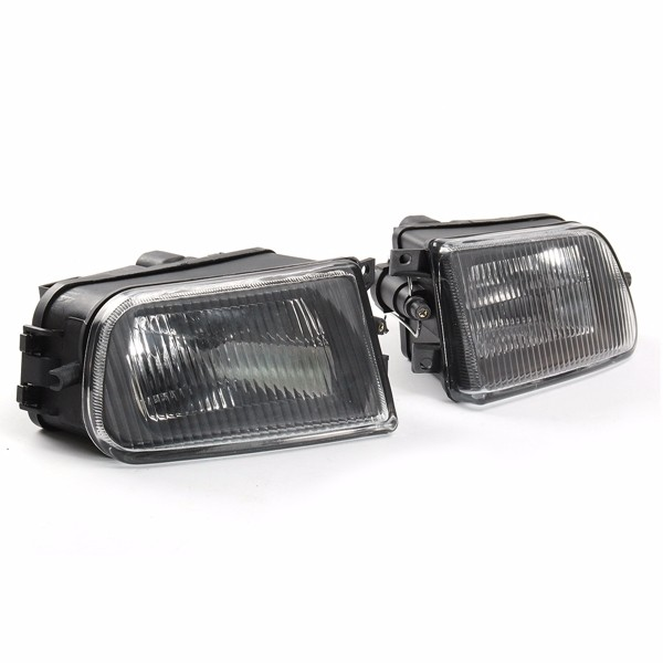 Pair Black Fog Lights Bumper Lamp Cover Housing For Bmw E39 5 Series 97 00 Z3 97 01 Alexnld Com