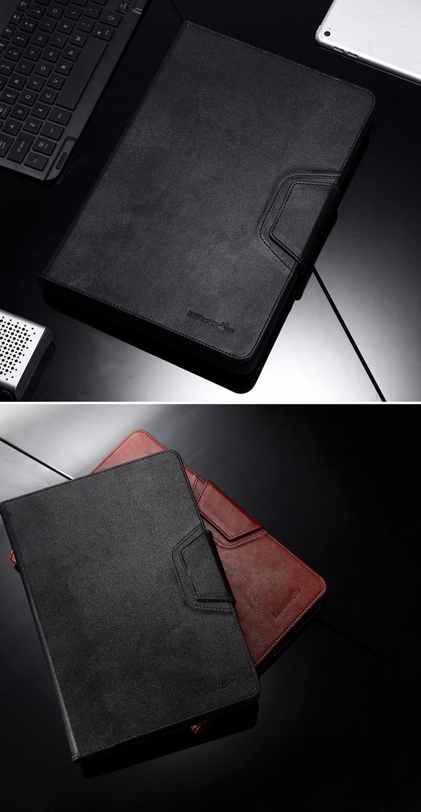 BlitzWolf® BW-KC1 Bluetooth 3.0 Backlight Keyboard PU Leather Case For iPad Mini Air Pro Samsung Galaxy Tab