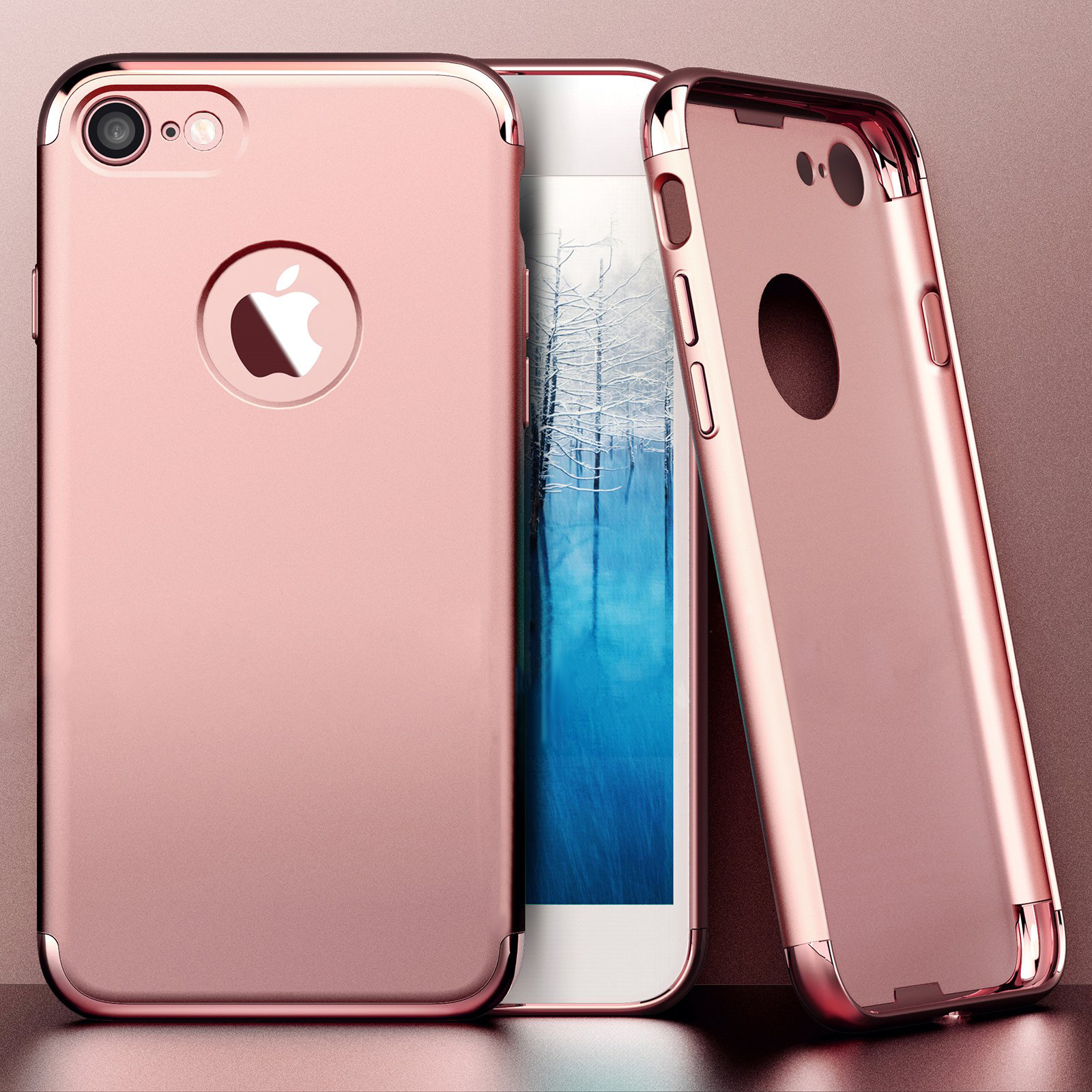 Buy Apple iPhone 7 Luxury Plating Ultra thin Hard PC Back Case Cover