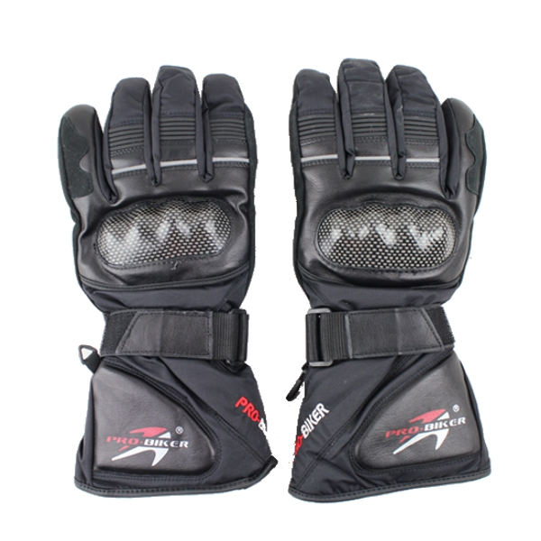 Full Finger Safety Bike Motorcycle Racing Gloves Winter for Pro-biker HX-05