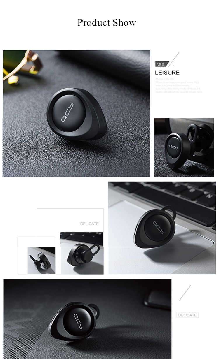 QCY J11 Mini Bluetooth Headphone Earphone