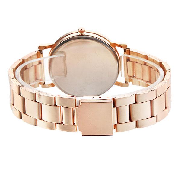 Fashion Metal Dial Women Quartz Watch Casual Unisex Wrist Watch