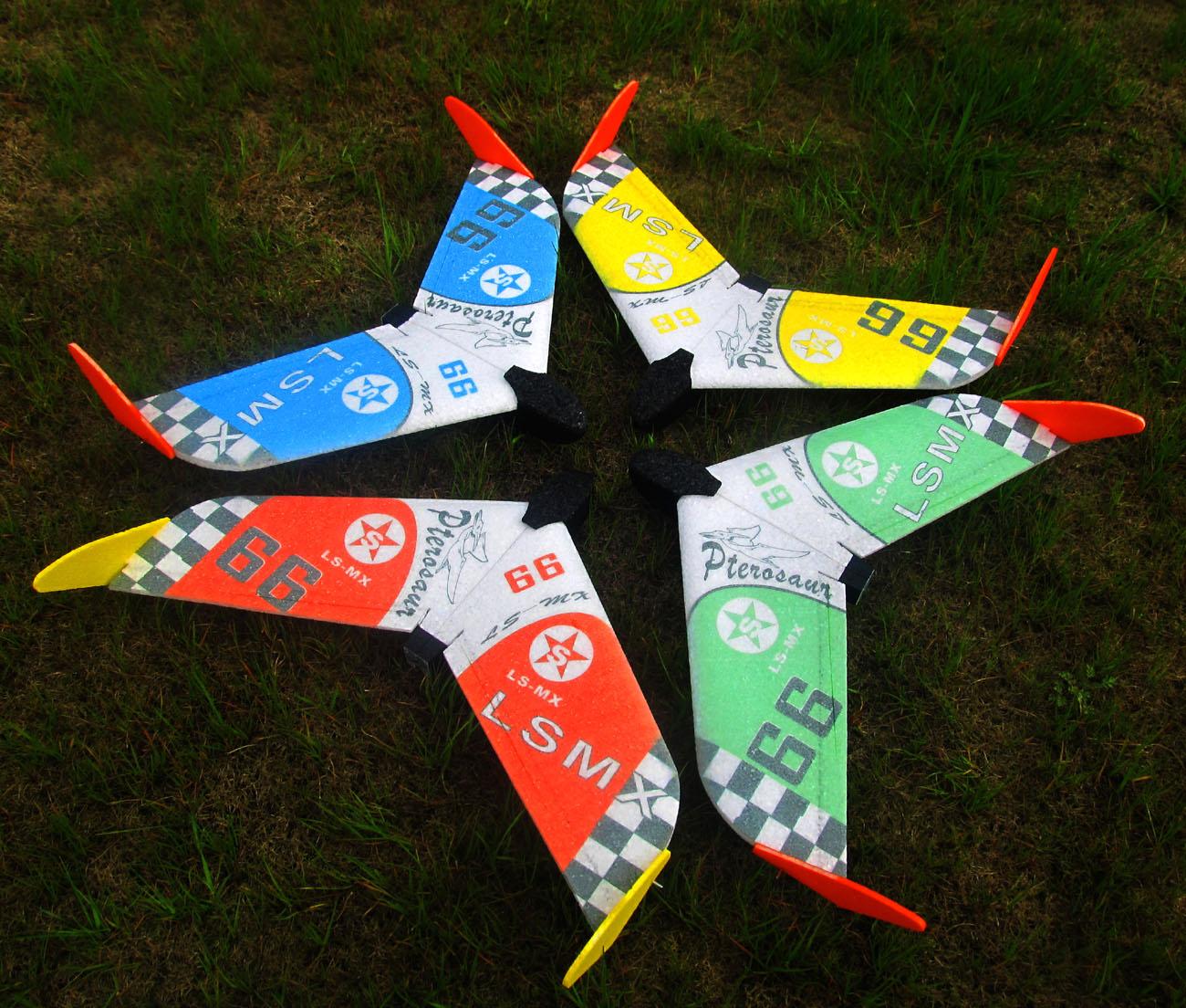 Spirit 600mm Wingspan EPP FPV Racer Flying Wing RC Airplane KIT - Photo: 3