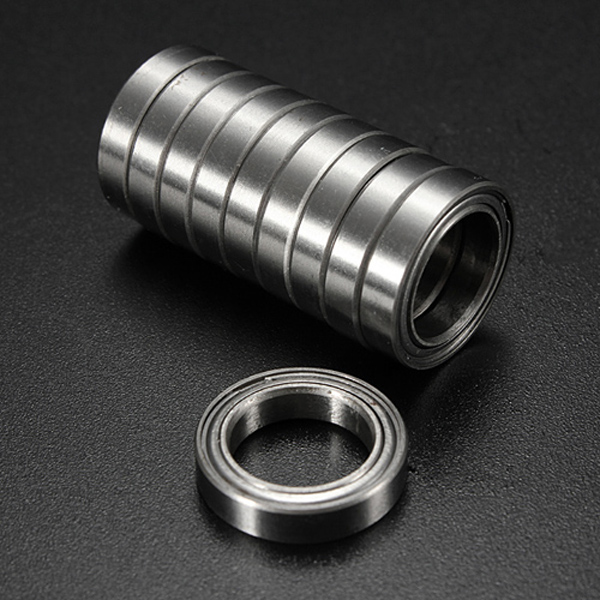 10Pcs 18 x 12 x 4 mm 6701ZZ Steel Metal Radial Ball Bearing