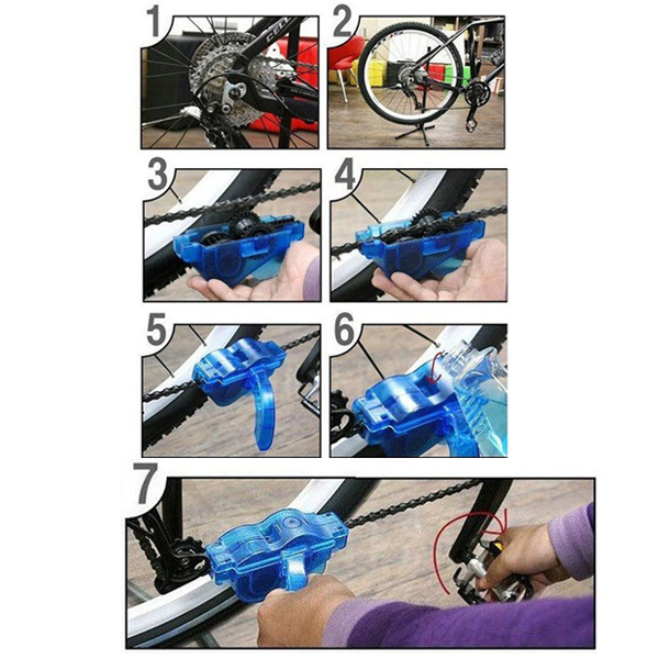 how to keep bike chain clean