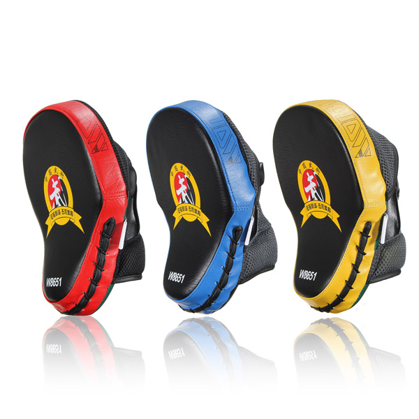 Boxing Fighting Taekwondo Training Mitts High Stripping PU Gloves