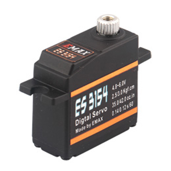 Emax ES3154 Digital Mini Servo For RC Model 1pcs jx pdi 6221mg 20kg large torque digital coreless servo for rc car crawler rc boat helicopter rc model