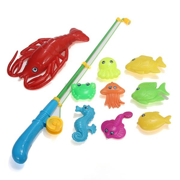 пластмассовая рыбалка