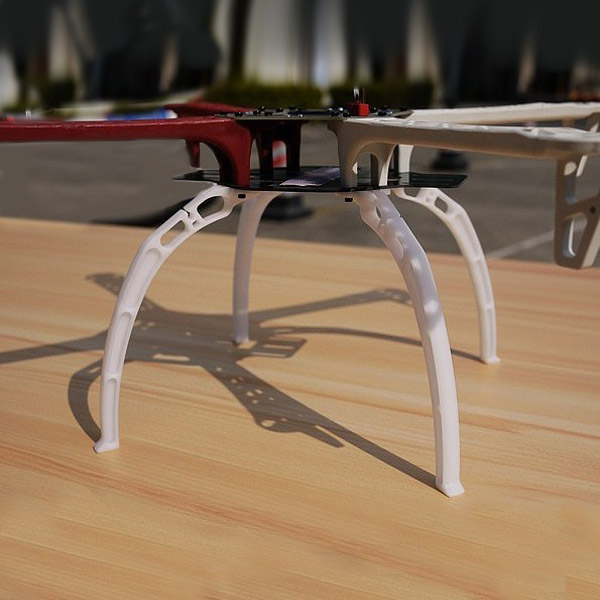F450 F550 SK450 Z450 TL450 Universal High Landing Skid Gear 4 PCS f08151 b 500mm multi rotor air frame kit s500 w landing gear esc motor welded qq super control board t8fb 8ch rx