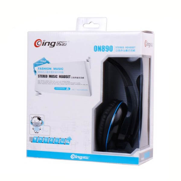 Oing ON-890 Stereo Wired Headphone With Microphone