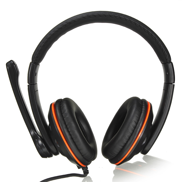 OVLENG OV-Q5 USB 2.0 Stereo Headphone Headset with Mic