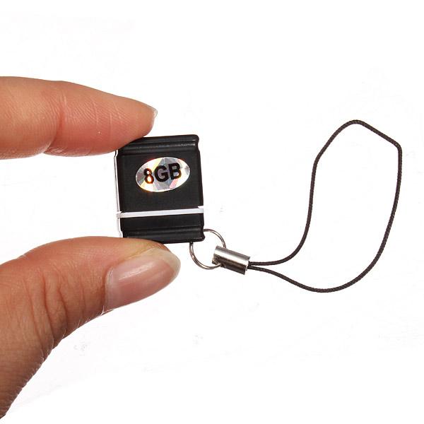 8GB Portable Mini USB Flash Drive Mini USB 2.0 Mini Memory Disk