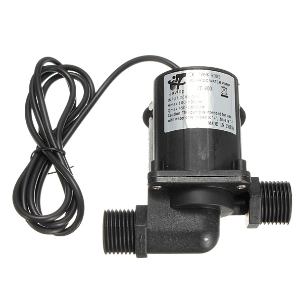 Magnetic DC 12V Electric Brushless Centrifugal Water Pump 3M Fountain mini water pump zx43a 1248 plumbing mattresses high temperature resistant silent brushless dc circulating water pump 12v 14 4w