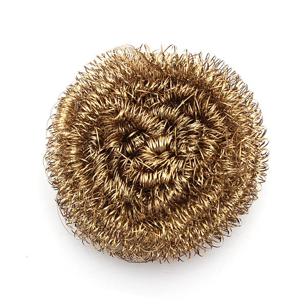 Soldering Solder Tip Cleaner Cleaning Copper Wire Sponge Ball Clean