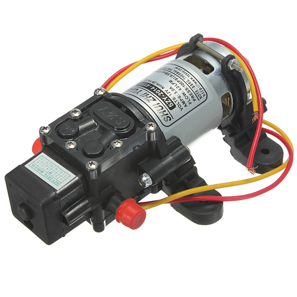 12V DC 4L/Min 100PSI High Pressure Diaphragm Water Pump griff b2 1