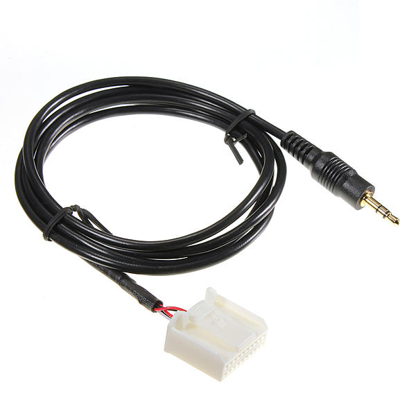 3.5mm AUX IN Audio Input Adapter MP3 Player Phone for Toyota 07-09