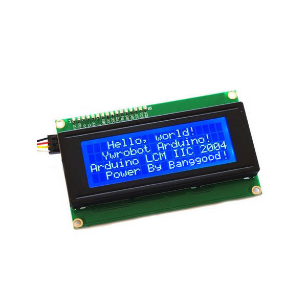 IIC I2C 2004 204 20 x 4 Character LCD Display Module Blue module waveshare 10pcs lot 0 95inch rgb oled a 96x64 display led lcd module spi interface curved horizontal pinheader