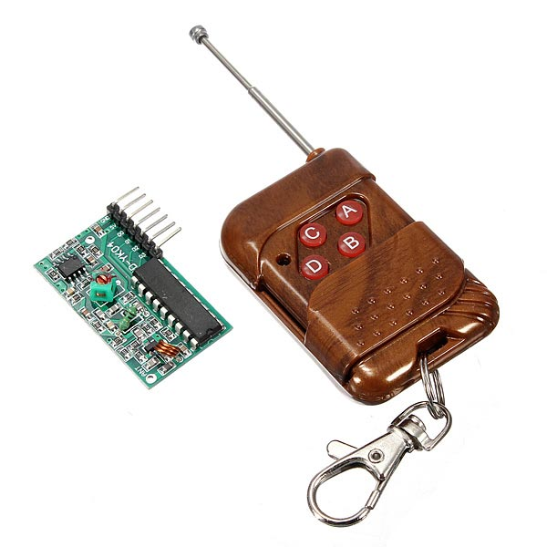 4 Channel Wireless RF Remote Control Transmitter Receiver Module voltage detection relay switch control board charging and discharging detection control module upper and lower alarm 12v