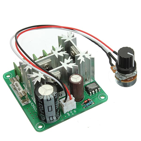6V - 90V 15A Control PWM DC Motor Speed Regulator Controller Switch top quality foundation brush angled makeup brush