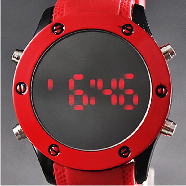 Silicone Digital LED Watch