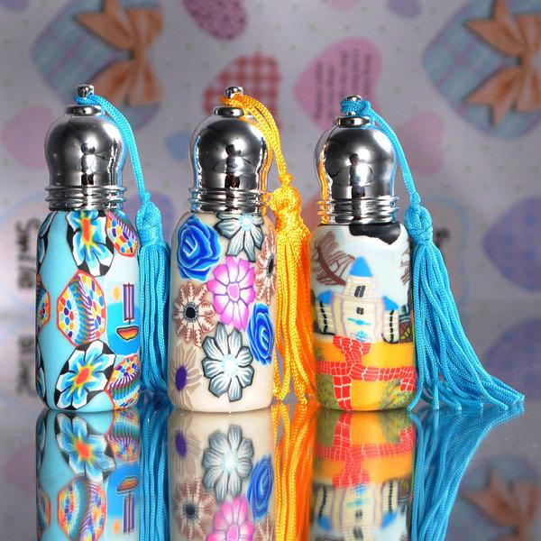 6ml Polymer Clay Roller Perfume Bottles Refillable Portable