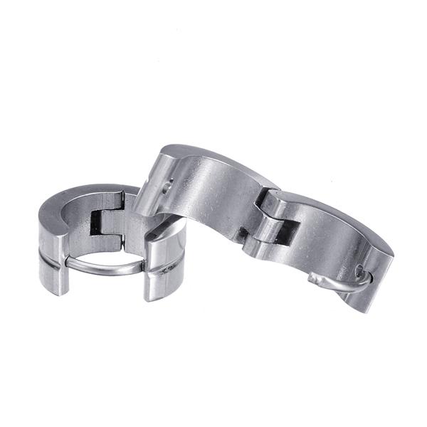mens titanium hoop earring