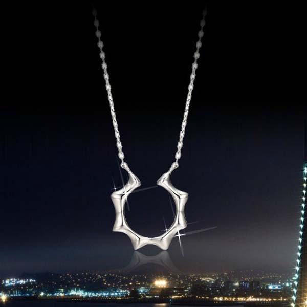 sun pendant necklace