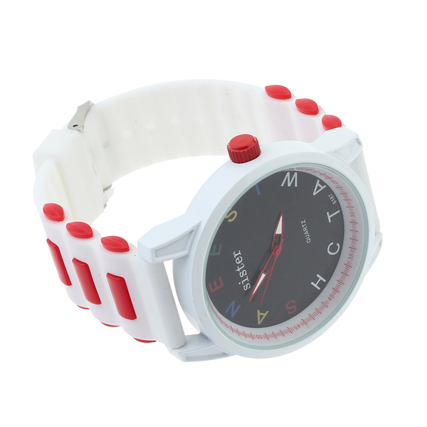 Big Dial Letter Watch