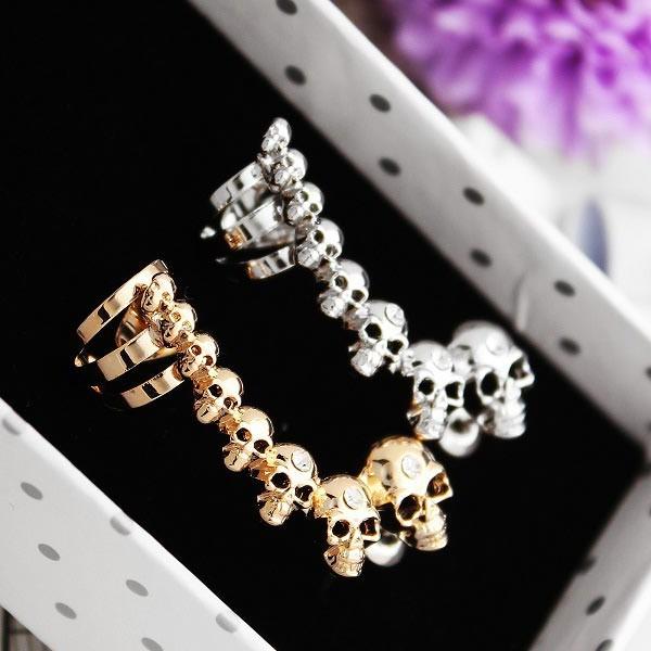 Skull Ear Clips