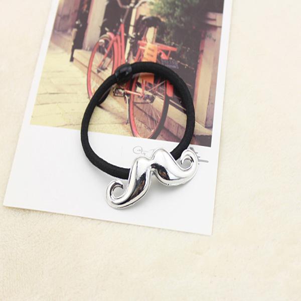 Metal Texture Mustache Hair Band Fashion Hair Rope Hair Accessories