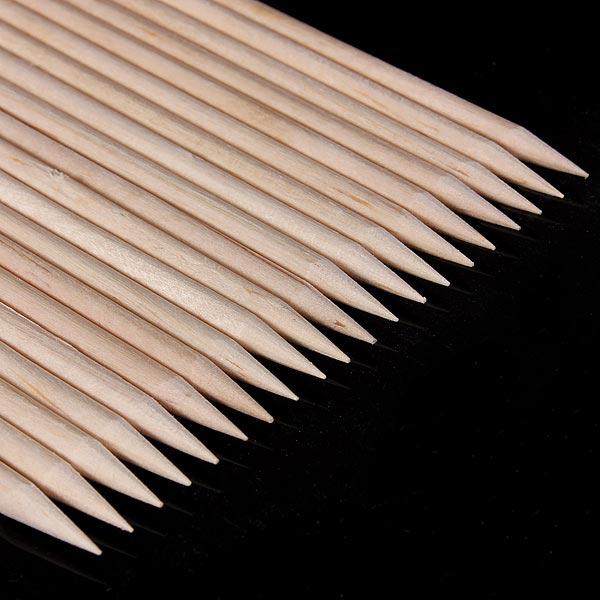 20Pcs Wood Nail Art Sticks Cuticle Pusher Remover Manicure Tools