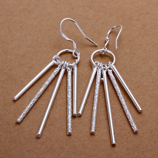 925 Silver Plated Earrings