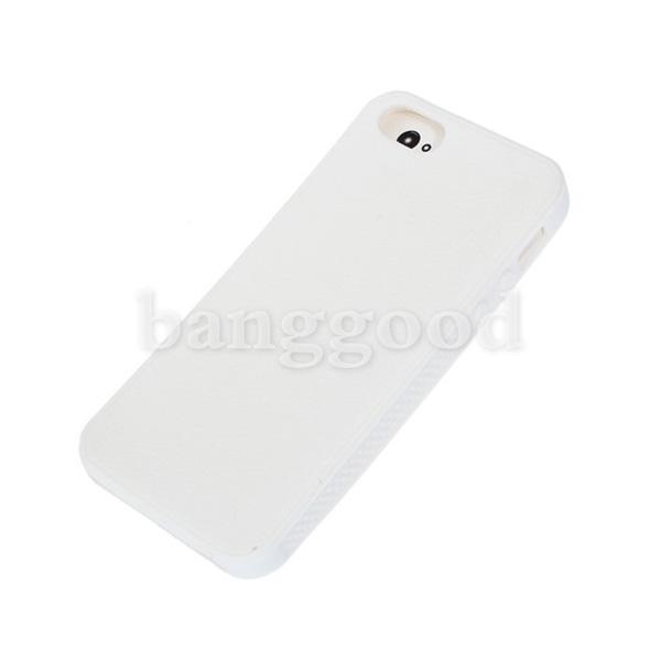簡単なシリコンキャンディー色保護ケースカバーiPhone 5 5G用