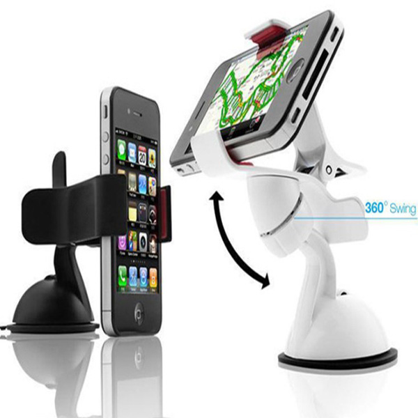 Universal 360 Degree Rotating Trochal Disc Bracket For iPhone 4S GPS