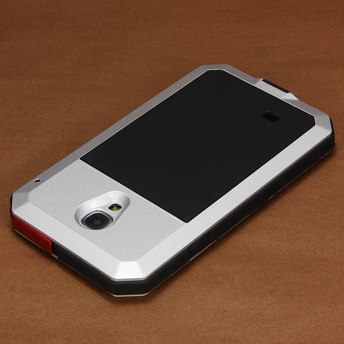Aluminum Shock Water Proof Gorilla Glass Case For Samsung i9500