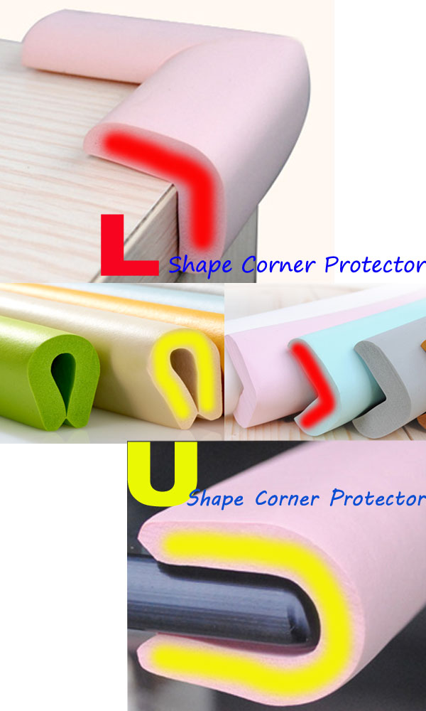 200CM Thicken Baby Safety Rubber Corner Protector Edge Cushion