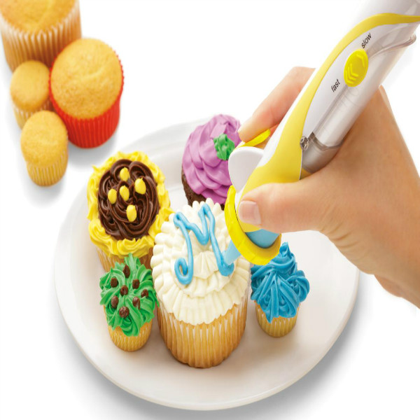 Magic Cupcake Cookie Pastry Decorating Supplies Frosting Deco Pen Set