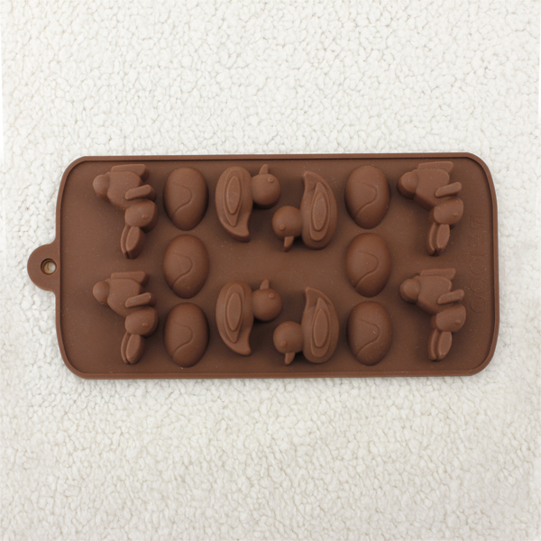 Rabbit Duck Egg Chocolate Cake/Ddiy Jelly Pudding Mold