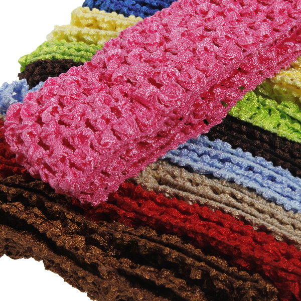 50 Bulk Girls Baby Toddler Crochet Headband Hairband