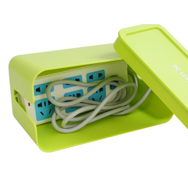 Colorful Baby Power Cord Storage Box Electrical Wire Box