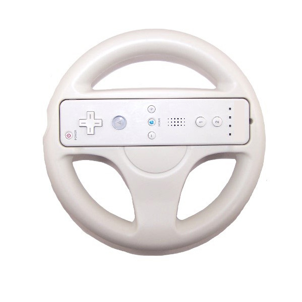 Racing Steering Wheel Handle For Wii Remote Controller