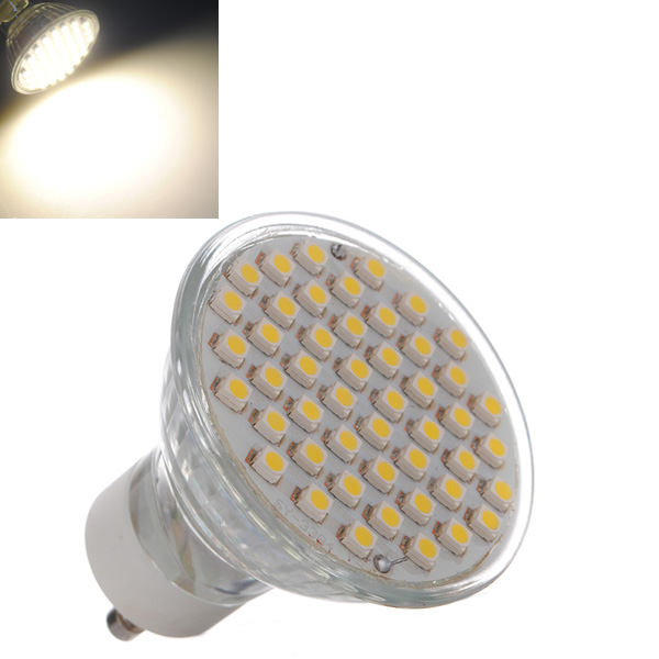 UltraFire GU10 3W 60*3528 400LM 3500K Warm White LED Light Bulb